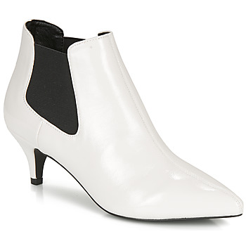Zapatos Mujer Botines André LUCIANA Blanco