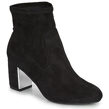 Zapatos Mujer Botas de caña baja André LAUGHING Negro