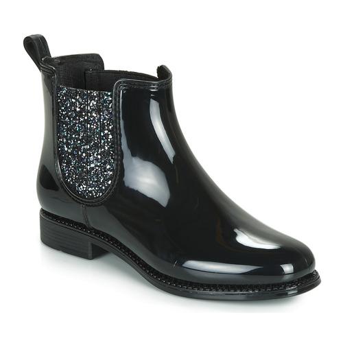 André BULLE Negro - Envío gratis | ! - Zapatos Botas de caña baja Mujer