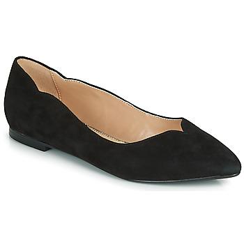 Zapatos Mujer Bailarinas-manoletinas André LIKELY Negro