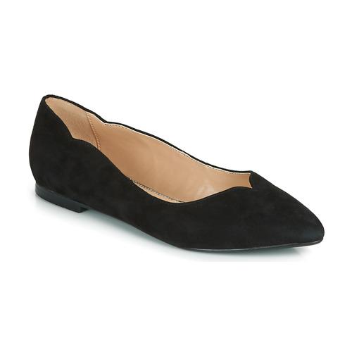 André LIKELY Negro - Envío gratis | ! - Zapatos Bailarinas Mujer
