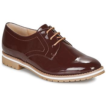 Zapatos Mujer Derbie André CICERON Rojo