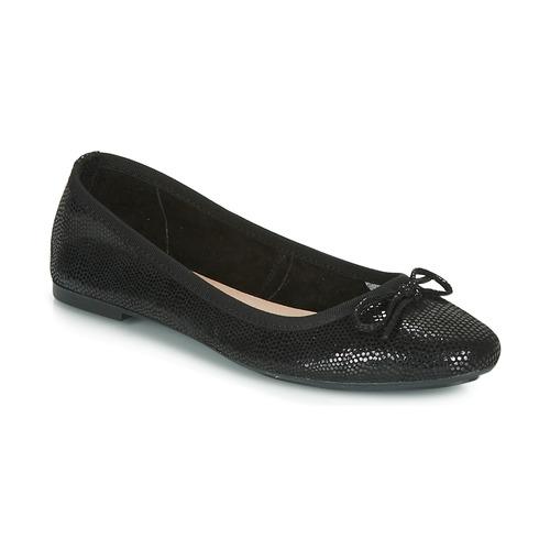 André PIETRA Negro - Envío gratis | ! - Zapatos Bailarinas Mujer