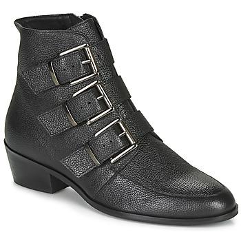 Zapatos Mujer Botas de caña baja André ERNA Negro