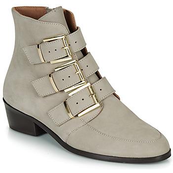 Zapatos Mujer Botas de caña baja André ERNA Gris