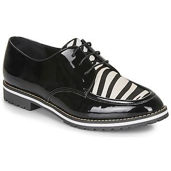 Zapatos Mujer Derbie André CHARLELIE Negro / Estampado