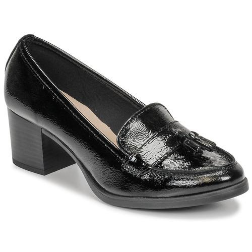 André MAGNOLI Negro / Barniz - Envío gratis | ! - Zapatos Mocasín Mujer