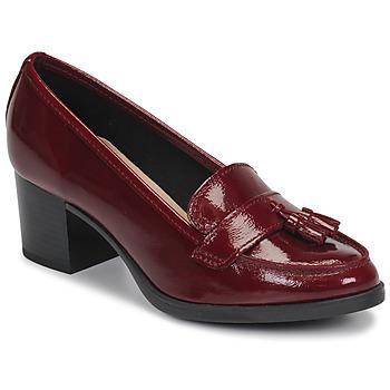 Zapatos Mujer Mocasín André MAGNOLI Rojo