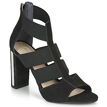 Zapatos Mujer Sandalias André LA  DETERMINEE Negro