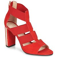 Zapatos Mujer Sandalias André LA DETERMINEE Rojo