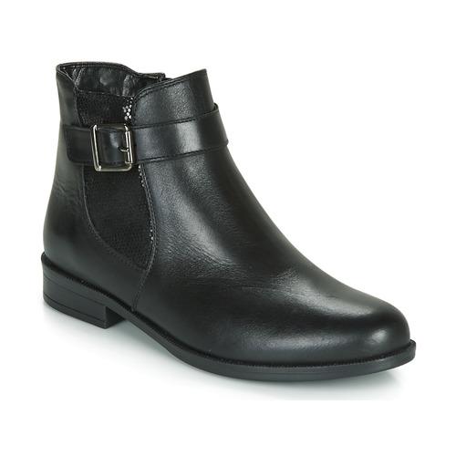 André ESMERALDA Negro - Envío gratis | ! - Zapatos Botas de caña baja Mujer
