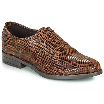 Zapatos Mujer Derbie André MOBI Marrón