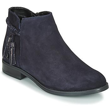 Zapatos Mujer Botas de caña baja André MILOU Marino