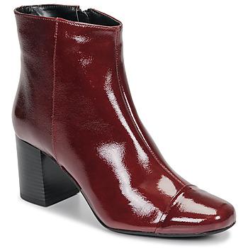 Zapatos Mujer Botines André LANA Rojo