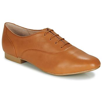 Zapatos Mujer Derbie André EXQUIS Camel
