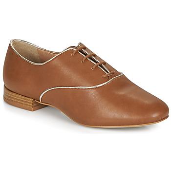Zapatos Mujer Derbie André VIOLETTE Camel