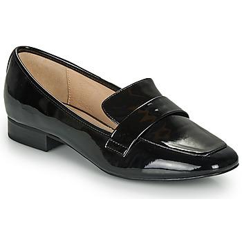 Zapatos Mujer Mocasín André LYS Negro / Barniz