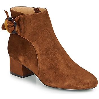 Zapatos Mujer Botines André LOUISON Cognac