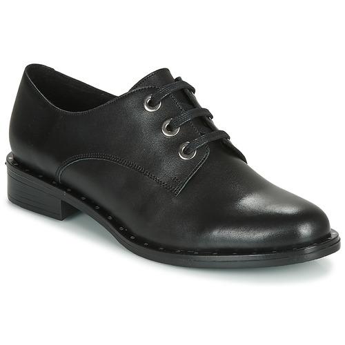 André NEWCASTLE Negro - Envío gratis   ! - Zapatos Derbie Mujer