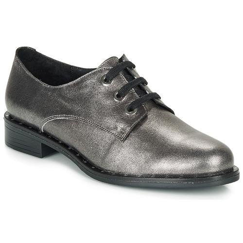 André NEWCASTLE Plateado - Envío gratis | ! - Zapatos Derbie Mujer