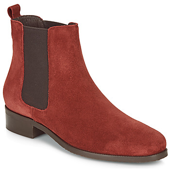 Zapatos Mujer Botas de caña baja André CHATELAIN Rojo