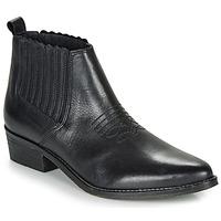 Zapatos Mujer Botas de caña baja André MANA Negro