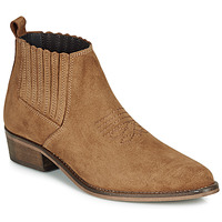 Zapatos Mujer Botas de caña baja André MANA Camel