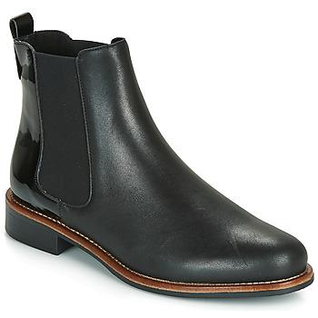 Zapatos Mujer Botas de caña baja André LISSANDRO Negro