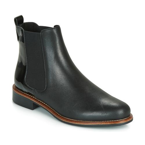 André LISSANDRO Negro - Envío gratis | ! - Zapatos Botas de caña baja Mujer