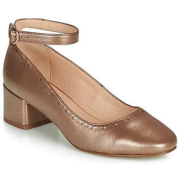 Zapatos Mujer Bailarinas-manoletinas André LAUREATE Dorado