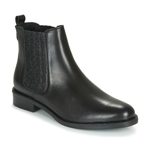 André LETKISS Negro - Envío gratis | ! - Zapatos Botas de caña baja Mujer