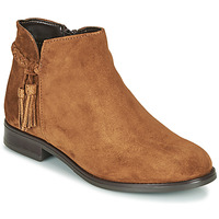 Zapatos Mujer Botas de caña baja André MILOU Camel
