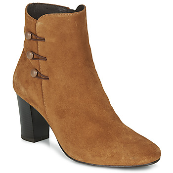 Zapatos Mujer Botines André MAJESTEE Camel