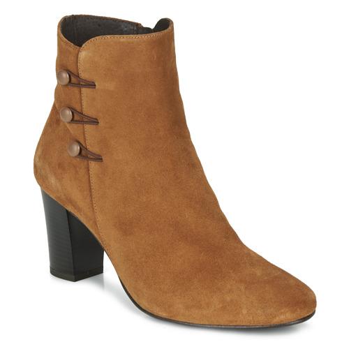André MAJESTEE Camel - Envío gratis | ! - Zapatos Botines Mujer