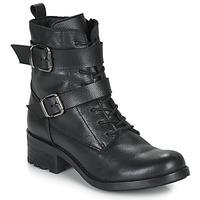 Zapatos Mujer Botas de caña baja André NIMA Negro
