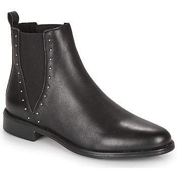 Zapatos Mujer Botas de caña baja André NOTTING HILL Negro