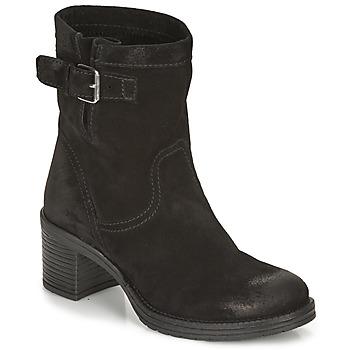 Zapatos Mujer Botines André MANDARINE Negro