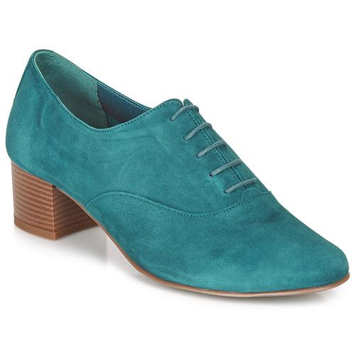 André CASSIDY Azul - Envío gratis | ! - Zapatos Derbie Mujer