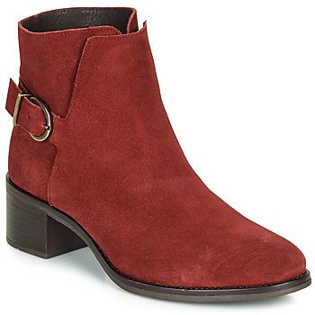 Zapatos Mujer Botines André MIRLITON Rojo