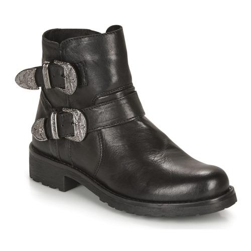 André NORCROSS Negro - Envío gratis | ! - Zapatos Botas de caña baja Mujer