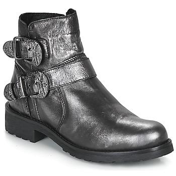 Zapatos Mujer Botas de caña baja André NORCROSS Plateado
