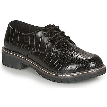 Zapatos Mujer Derbie André NEBULEUSE Negro / Estampado