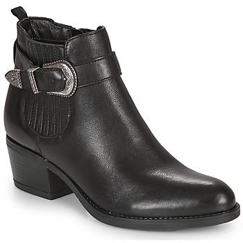Zapatos Mujer Botines André MADAISY Negro