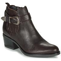 Zapatos Mujer Botines André MADAISY Marrón