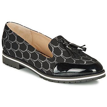 Zapatos Mujer Mocasín André EMOTION Plateado