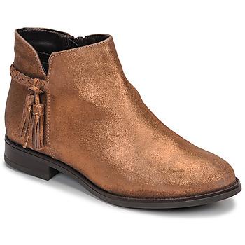Zapatos Mujer Botas de caña baja André MILOU Dorado