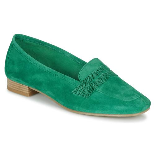 André NAMOURS Verde - Envío gratis | ! - Zapatos Mocasín Mujer
