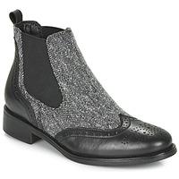Zapatos Mujer Botas de caña baja André EGLANTONE Negro