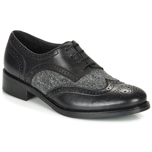 André EGLANTINE Negro - Envío gratis | ! - Zapatos Derbie Mujer