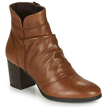 Zapatos Mujer Botines André EBENE Marrón